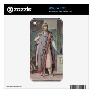 Antiochus, costume for 'Berenice' by Jean Racine, Decals For iPhone 4S