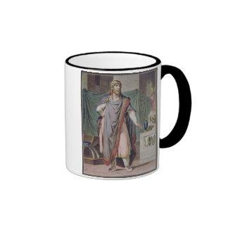 """Antiochus, traje para """"Berenice"""" por Jean Racine, Tazas De Café"""
