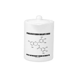 Antioxidante potente del galato de Epigallocatechi