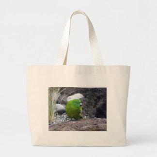 Antipodes Island Parakeet Canvas Bags