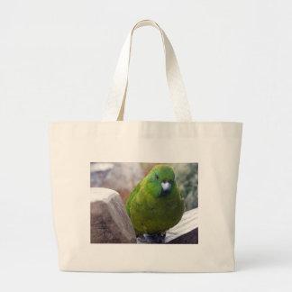 Antipodes Island Parakeet Canvas Bag