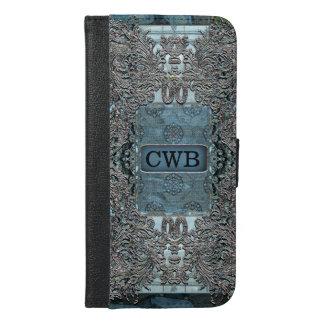 Antipolte Vintage Chic Monogram iPhone 6/6s Plus Wallet Case