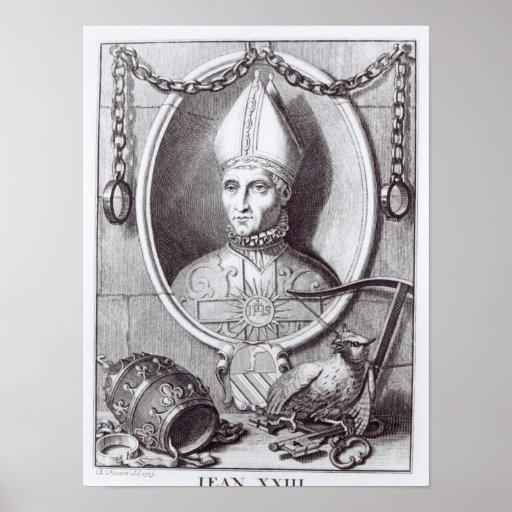 Antipope John XXIII, 1713 Poster