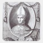 Antipope John XXIII, 1713 Square Sticker