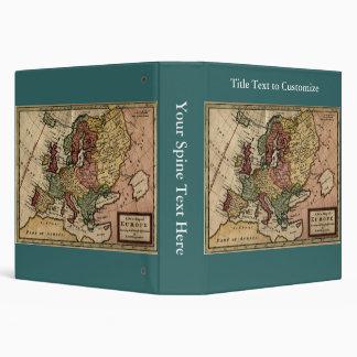 Antiquarian 1721 Map of Europe by Herman Moll Binder