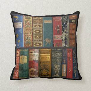 Librarian Themed Pillows