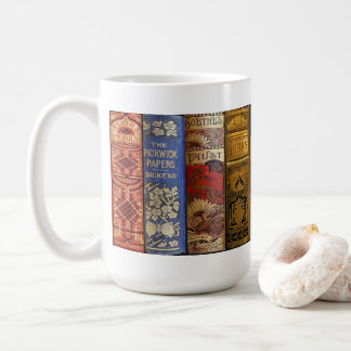 Antiquarian Book Mug