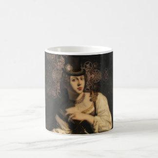 Antiquarian Traveler Black/White 11oz Morphing Mug