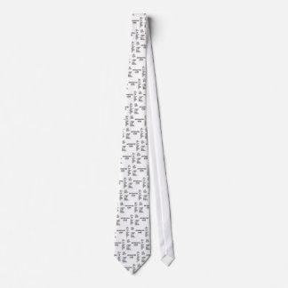 Antiquated Code (International Morse Code) Neck Tie