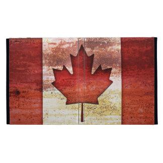 Antiquated Flag of Canada iPad Cases