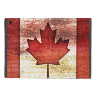 Antiquated Flag of Canada Case For iPad Mini