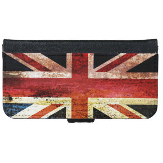 Antiquated Union Jack iPhone 6 Wallet Case