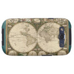Antique 1660 World Map by Frederick de Wit Galaxy S3 Cover