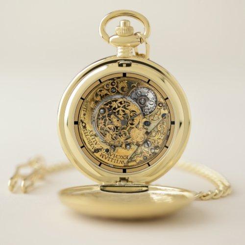 Antique 1700's William Webster Steampunk Pocket Watch