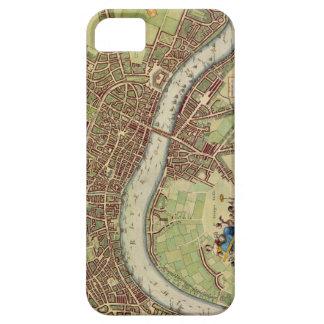 Antique 17th Century Map of London W. Hollar iPhone SE/5/5s Case