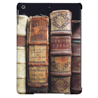 Antique 18th Century Design Leather Binding books iPad Air Covers