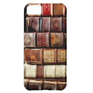 Antique 18th Century Design Leather Binding books iPhone 5C Case