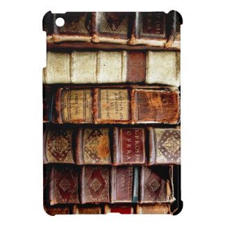 Antique 18th Century Design Leather Binding books Cover For The iPad Mini