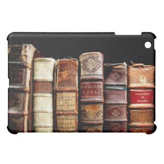 Antique 18th Century Design Leather Binding books iPad Mini Cover