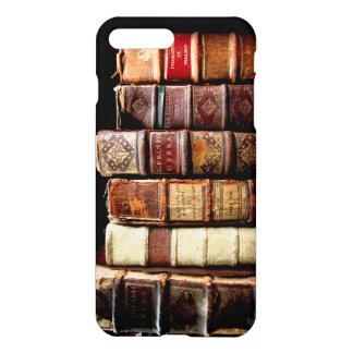 Antique 18th Century Design Leather Binding books iPhone 7 Plus Case