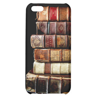 Antique 18th Century Design Leather Binding books iPhone 5C Cover