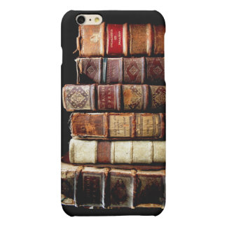 Antique 18th Century Design Leather Binding books Matte iPhone 6 Plus Case