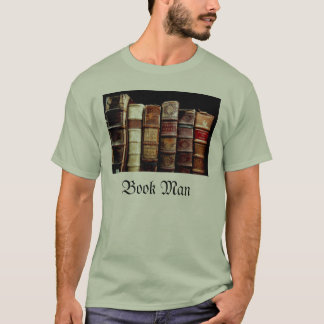 Antique 18th Century Design Leather Binding books T-Shirt