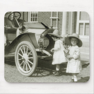 Antique 1911 Roadster Mouse Pad