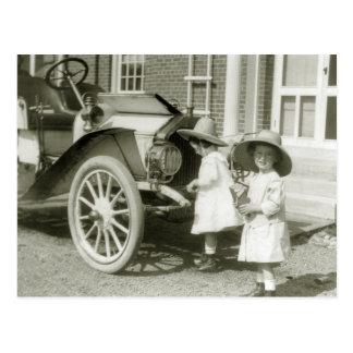 Antique 1911 Roadster Postcard