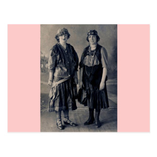 Antique 1920s Women in Gypsy Costumes Postcard