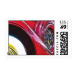 Antique 1928 Packard Automobile Postage Stamps