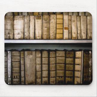 Antique !7th Century Vellum Bindings Books Mouse Pad