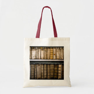 Antique !7th Century Vellum Bindings Books Tote Bag