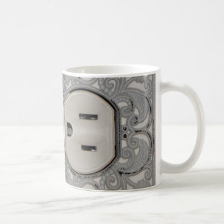 Antique A/C Outlet Coffee Cup