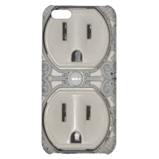 Antique A/C Outlet iPhone Case iPhone 5C Cover