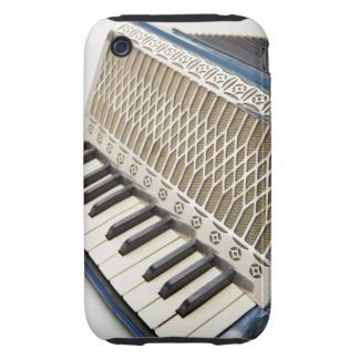 Antique Accordion Keyboard iPhone 3 Tough Cover