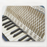 Antique Accordion Keyboard Mouse Pads