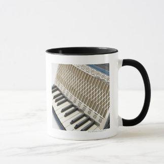 Antique Accordion Keyboard Mug