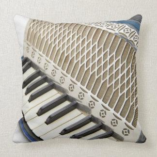 Antique Accordion Keyboard Pillow