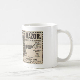 Antique advert from 1892 for Midget safety razor Coffee Mug