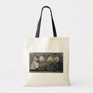 Antique African American Women Photo Canvas Bags