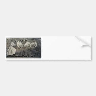 Antique African American Women Photo Bumper Stickers