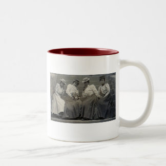 Antique African American Women Photo Two-Tone Coffee Mug