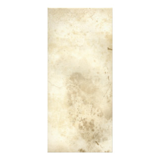 Antique Aged Blank Paper Rack Card