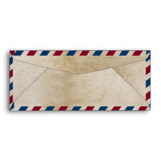 Antique Airmail #10  Envelope
