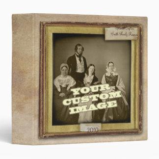 """Antique Album 1.5"""" Binder"""