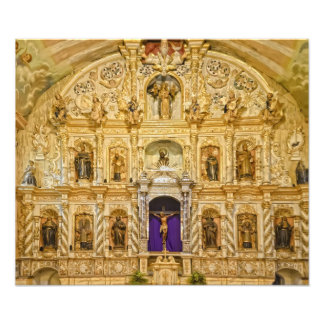 Antique Altar Photo Print