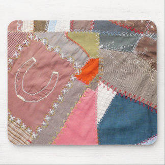 Antique American Crazy Quilt - Quilter s Mouse Pad