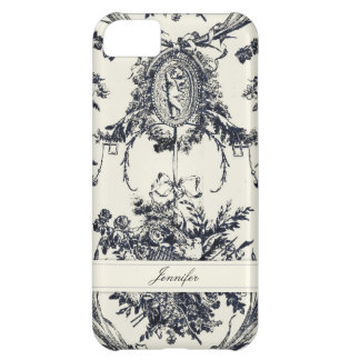 Antique Angel Customizable _Black Cover For iPhone 5C