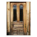 Antique Architectural Wooden Door Cards